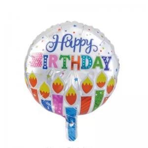 ballong födelsedag ljus