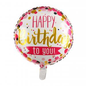 Happy Birthday to you födelsedags folieballong
