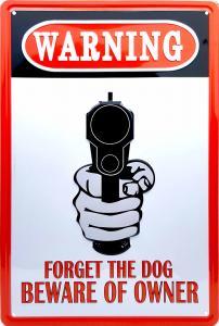 plåtskylt Warning