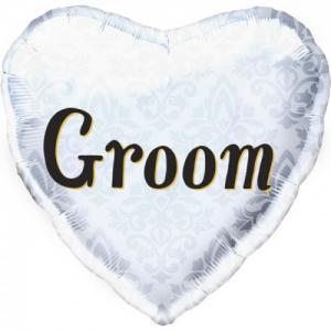Groom folieballong