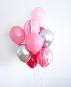 10st helium ballonger babe