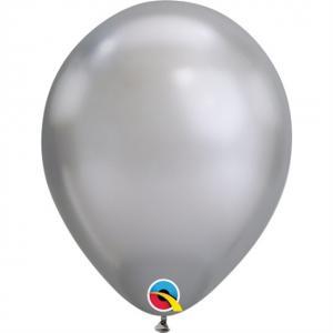 Latexballong Chrome Silver