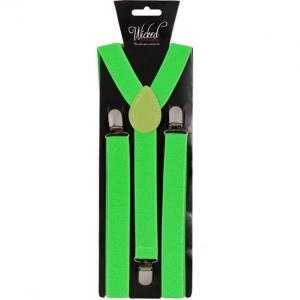 Hängslen Neon Gröna