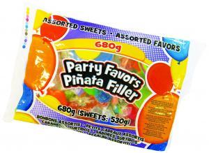 Leksaker & godis till Piñata