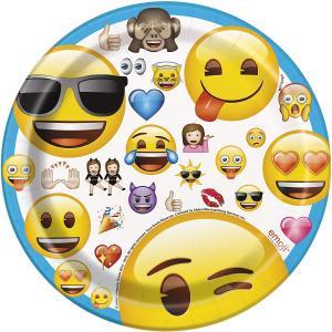 Emoji tallrikar