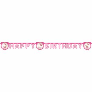 Hello Kitty Födelsedags Girland 2m