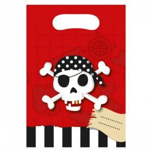 Pirat dödskalle presentpåsar