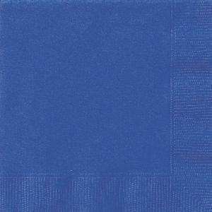 Servetter kunglig blå