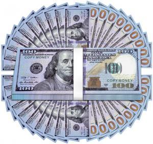 100 Dollar sedlar servetter