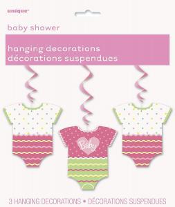 Babyshower dekoration polka dot girl