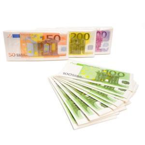 Euro sedlar servetter Osorterad