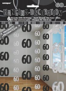 Hängande Dekoration 60 svart