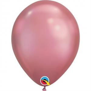 Latexballong Chrome Rosa