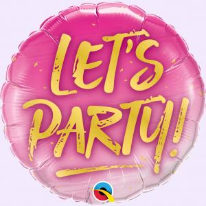 Lets Party! Heliumballong