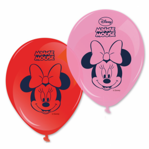8-pack Minnie mouse ballonger