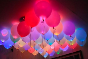 LED-lampor för ballonger