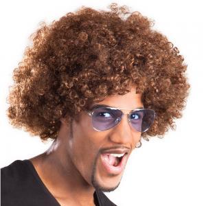 Afro Peruk Brun