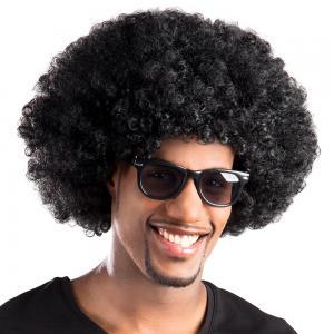Afro Peruk Svart