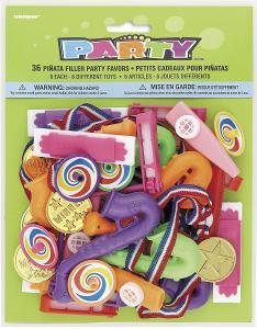 Leksaker till Piñata 36-pack