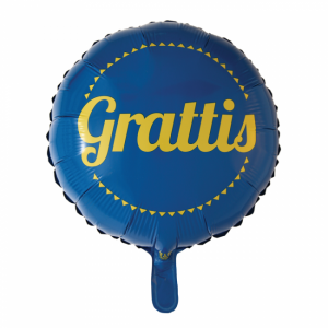 Grattis folieballong