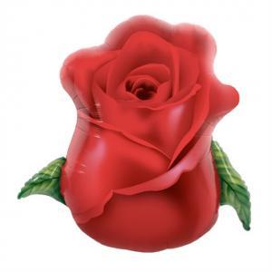 Röd Ros Folieballong