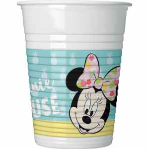 Minnie mouse 8-pack plastmuggar