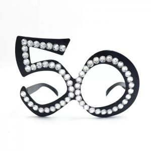 Glasögon 50år svart