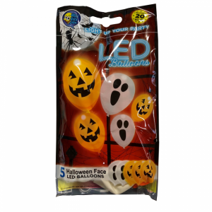 Latexballonger LED Halloween