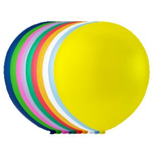 Latex ballonger  osorterade färger
