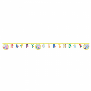 Peppa Pig Girland Happy Birthday