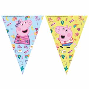 Peppa Pig Triangel Flaggspel