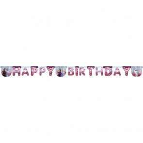 Frozen 2 happy birthday banner