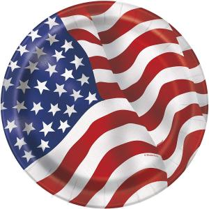 Papptallrik USA
