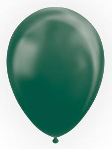 Metallic Latexballonger, Grön 100-pack