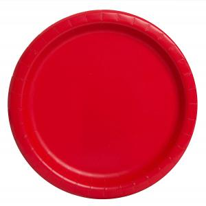 Rubin röda tallrikar 16-pack
