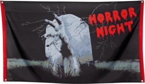 Horror skräck Banner