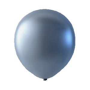 Pärlemor latexballong silver 30cm