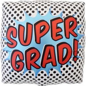 Folieballong Super Grad!