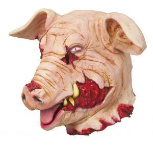 Blodig gris mask