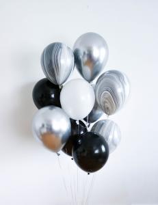 10st helium ballonger lyx