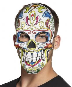 Ansiktsmask Mr. Day of the dead