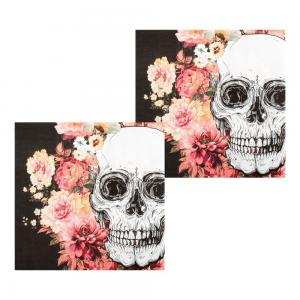 Servetter Day of the dead 12-pack 33x33cm