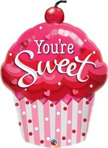 You're Sweet Cupcake Folieballong