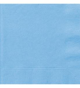 Servetter Ljusblå 20-pack