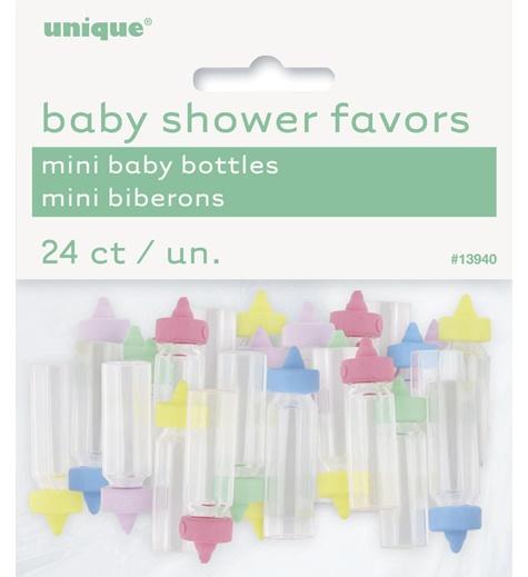 Babyshower Mini Flaskor