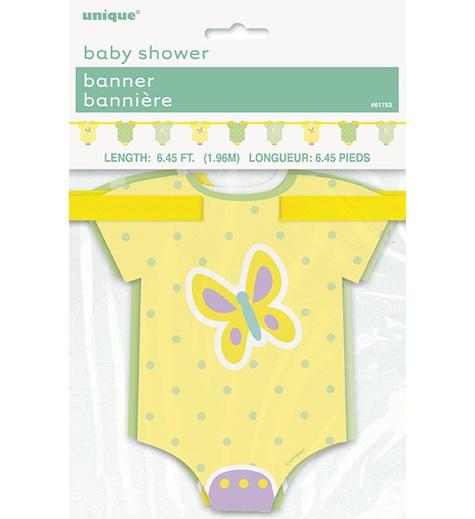 Babyshower Girlang Kläder