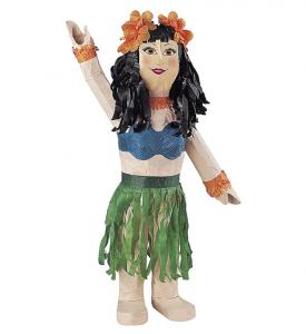 Hawaii flicka pinata
