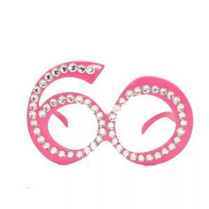 Glasögon 60år rosa