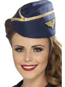 Flygvärdinna hatt lyx