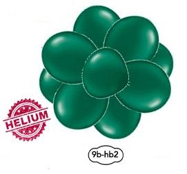 Kluster ballonger med helium